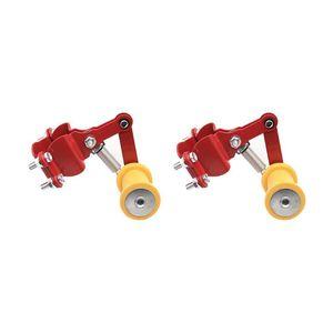 2pcs universal automático del tensor de accesorios de motos Piezas Firma Perno Durable Roller Modificado Instalación simple ajustador de cadena
