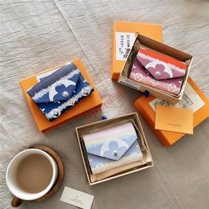 İle xshfbcl Escale Victorine Cüzdan Shibori Batik Zarf Stil Kadın Yaz 2020 Yeni Tasarımcı Cüzdan