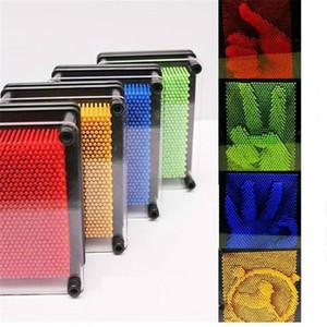 DIY 3D для Pinart Изменено иглы Drawing Клонирование Fingerprint новизны игрушки 3D картины Детские Подарок Творческий Прохладный Игрушки 3D Рука Mold стол