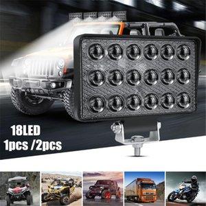 Led Bar 10 -24v Led Work Light Truck Lights Strobe Flash 12 Leds Taillights Turn Signal Lights Warning Car Accessories