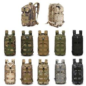 30L Открытый Спортивные сумки Военные Тактические рюкзаки Molle рюкзаки Кемпинг Треккинг сумка рюкзаки походные traving Плечи сумка DHA11