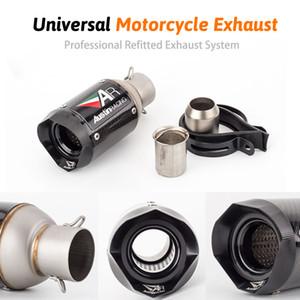 Universal de 51 mm de escape AR Austin compite con la motocicleta de tuberías de fibra de carbono de escape del sistema con DB killer Para GSXR600 Z1000 ER6N K7