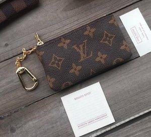 Frankreich Stil Designer Münzfach Mannfrauendame Ledergeldbörse Schlüsselmappe Mini-Portemonnaie Seriennummer Staubbeutel 03