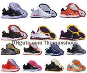 새로운 폴 조지 PG 사 PE 4S PG4 아폴로 임무 항공 우주국 (NASA) 판매 IV 남성 남자 농구 신발 저렴한 스포츠 운동화 크기 US7-12