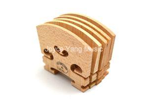 10PCS 메이플 바이올린 브릿지 4/4 3/4 1/2 1/4 1/8 고급 공예 높은 품질의 바이올린 액세서리 무료 배송