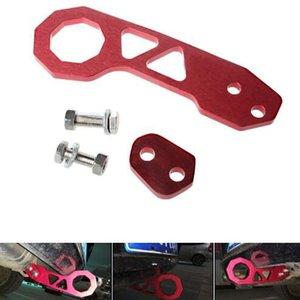 Universal Racing Towing Car Rear Tow Hook Set Aleación de aluminio Auto Remolque Anillo Accesorios