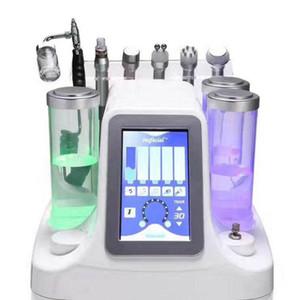 6 NEW In 1 Hydra Dermabrasion Aqua Peel Saubere Hautpflege BIO-Licht RF Vakuum Gesichtsreinigung Hydro Wasser Sauerstoff Jet Peel Maschine