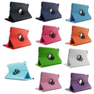 For New iPad 2018 Pro 11 9.7 10.5 360 Degree Rotating Leather Case Cover For iPad Air2 Mini 2 3 4