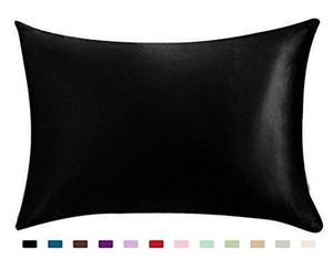 100% Silky Satin Hair Beauty Pillowcase, Standard Queen 1PC Pillow Case