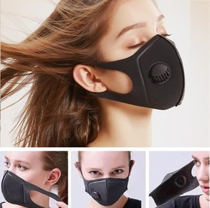 DHL Ship Black Sponge Dustproof Face Masks Women Men Reusable Respirator Protective Mouth Mask Pm2.5 MASK HH9-3023