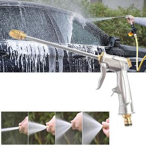 Water Gun Tubo per innaffiare ugello dello spruzzo d'acqua ad alta pressione regolabile rondella di potere per la pianta del fiore di pulizia della famiglia Rondella dell'automobile Y200106