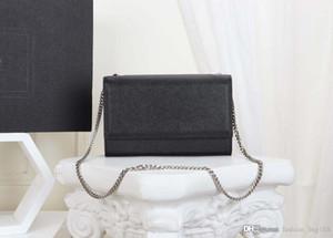 Mode Luxus Designer Frau Handtasche Kette Umhängetasche Croco Print Kleine Schulterklappe Taschen Echtes Leder Hohe Qualität Geldbörse Tragetaschen