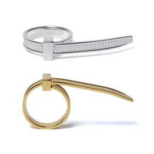 AMBUSH Hip Hop Yilai einfache Persönlichkeit 925 Sterling Silber Easy Pull Ring Nische Mode verstellbarer Ring Persönliches Geschenk für Frauen geben Schiff frei