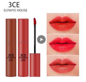 3CE Eunhye House Waterproof Liquid Gloss Set Lip Cosmetics Lip Tint Moisturizer Lipgloss Long-lasting Lip Makeup For Daily