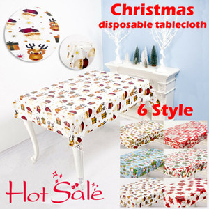 Antifouling Table Tablecloth Holiday Disposable Decor HOT 2020 Christmas Xmas Cloth Selling Elegant Waterproof Csjoo