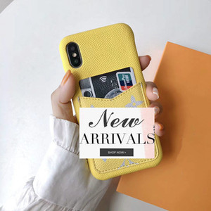 luxury designer phone cases for iphone 11 6 7 8 plus Fashion pattern With card bag soft back cover for iphone XR XS MAX