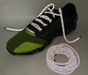 Wholesale Sara Doolan Reflective shoe laces SHOELACES Round 3.M Refective shoelaces 19Colors Shoes Lace