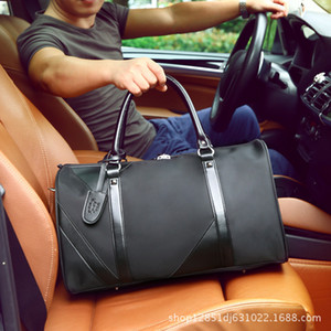 Male Waterproof Oxford Large Capacity Mobile Travel Bag Business Travel Light and Short Package Fashion Shoulder Luggage