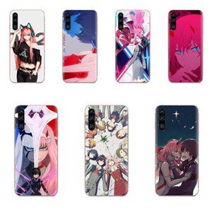 Custom TPU Art Online Cover Case Darling In the Franx для Samsung Galaxy Note 5 8 9 S3 S4 S5 S6 S7 S8 S9 S10 5G mini Edge Plus Lite