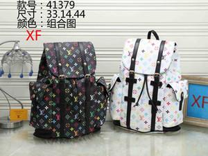 Wholesale new backpack schoolbag women shoulder canvas couple leisure travel schoolbag