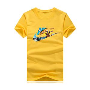 NIKE Nouveau hip-hop hommes T-shirt mode casual hommes T-shirt de sport à manches courtes pour femmes section mince 03