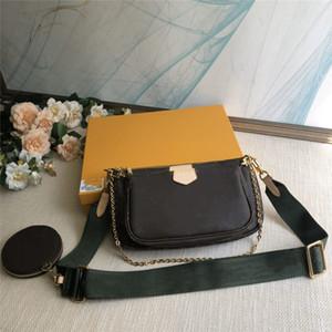 New sacos de ombro set bolsa de três peça clássica bolsas femininas de couro bolsa de senhora mensageiro saco mochila corpo cruz pacote de saco senhora bolsa