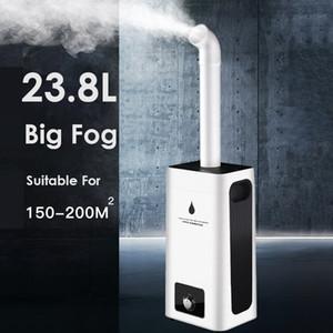 23.8L große Kapazitäts-Ultraschall-Luftbefeuchter 220V Intelligent Remote Control Wasser Diffuser Nebel-Hersteller Große Fogger