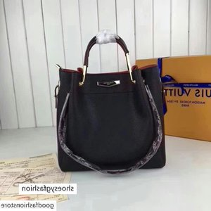 M43527 LADY BLACK Hobo HANDBAGS HANDLES BOSTON CROSS BODY MESSENGER Shoulder Bags