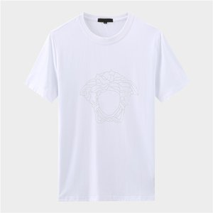 Luxe Italie T T-shirt Designer Polos High Street broderie Little Bee couleuvres rayées impression Vêtements pour hommes Marque Polo IY4