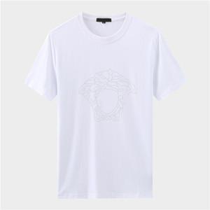Lüks İtalya Tee Tişört Tasarımcı Polo Gömlek High Street Nakış Jartiyer yılan küçük arı Baskı Giyim Erkek Marka Tişört iy4