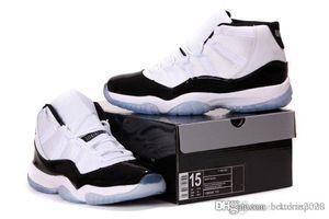 Tamanho grande 11s tênis de basquete dos homens 11s CRIADOS Tamanho Concord Sneakers Outdoor Sports Sneakers Big For Big Men US 14 15 16