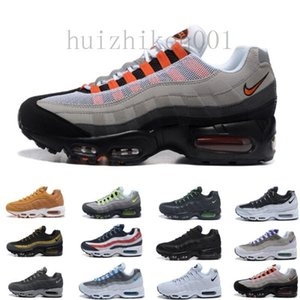 2018 Men Air Running Shoes What The OG Grape Neon TT Black Red Mens Trainers Triple White Sports Sneakers Size 7-11 RR622