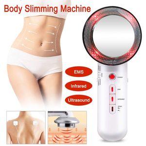 Envío gratis !!! Ultrasónica 3 en 1 máquina de ultrasonido cavitación adelgazamiento del cuerpo cuidado de la cara Pérdida ccsme corporal adelgazante masajeador Peso Lipo CE