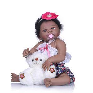 Bebe Reborn Newborn doll 57 см Реалистичная Полный Силиконовый 23 '' Reborn Baby Doll для Детей, Играющих в Игрушки Дома Подарок Bebe Boneca Reborn