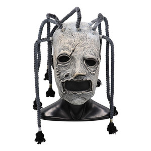 Máscara filme Slipknot Corey Taylor Cosplay Latex Costume Props Adultos Festa de Halloween do vestido extravagante