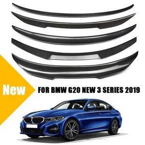G20 Rear Spoiler for BMW New 3 Series G20 2019 2020 Real Carbon Fiber Rear Trunk Boot Lid Wing PSM MP M3 M4 CS Style Look