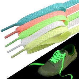 80CM Luminous Shoelace Sport Men Women Shoe Laces Glow In The Dark Fluorescent Shoeslace for Sneakers Canvas Shoes 1 PAIR=2 PIECES