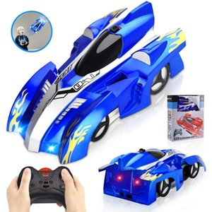 Remote Control Car RC Cars Electronic New Climbing Car LED Light 360 Degree Rotating Stunt Toys Birthday Gift