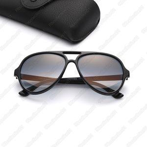 Marka Pilot deri kılıflı tasarımcı kadın güneş gözlüğü erkek güneş gözlüğü gözlükler takılması des lunettes de soleil kaplumbağa çerçeve güneş gözlüğü