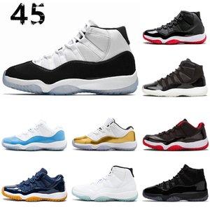 Nike 11 11s Hot Rushed 11 11s berretto concord e Gown Uomo Donna Scarpe da basket GAMMA BLUE CONCORD 23 45 Platinum Tint Scarpa sportiva Sneaker