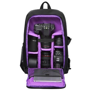 "Haufen Kamera / Video-Taschen Multifunktionale wasserdicht w / Regen-Abdeckung 15,6 \""Laptop Video Fall Digital-DSLR Foto Padded Rucksack Kamera Weich ..."