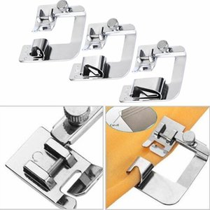 1PC Hot Sale Domestic High quality Sewing Machine Foot Presser Rolled Hem Feet Set for Brother Singer Sewing Accessories 3 Size