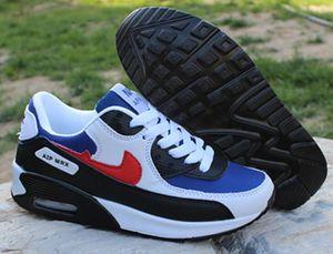 2020 pas cher Chaussures de sport classique 90 hommes Chaussures de course en gros 90s Sport Femmes Hommes Noir Chaussures de sport Formateurs Size36-44