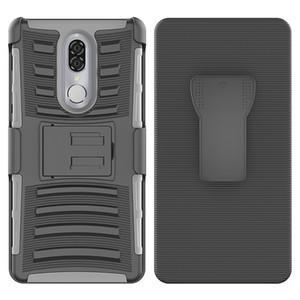 Для Coolpad Наследие MetroPCS MOTO G7 Power Armor Hybrid Case 3 в 1 Combo кобура пояса клип Защитный подножку телефон Обложка OPPbag