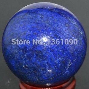 xd j00160 GIGANTIC AFGAN LAPIS LAZULI 51mm GEM STONE CRYSTAL BALL  CRYSTAL SPHERE