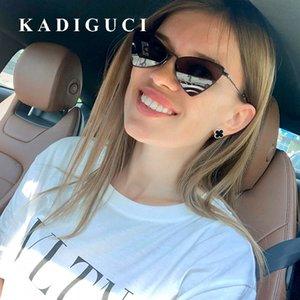 KADIGUCI Occhiali da sole triangolari donne del progettista di marca Vintage moda Occhiali da sole Uomini Ombra Oculos de sol UV400 K360