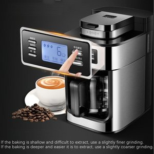 100% neue Marke elektrische Kaffeemaschine Maschine Haushalt vollautomatische Kaffeemaschine 1200ml Tee Kaffeekanne Home Kitchen Appliance 220V