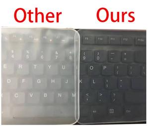 Folha protectora de teclado de Laptop impermeável folha protectora de teclado de 15 laptop cobertura de teclado de 15.6 17 14 bloco de notas cobertura de teclado de filme à prova de pó silicone
