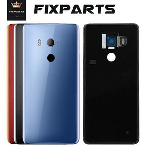 NEW ORIGINAL를 들어 HTC U11 눈 후면 배터리 BACK DOOR GLASS COVER 하우징과 카메라 렌즈 접착제 HTC U11 플러스 BACK COVER