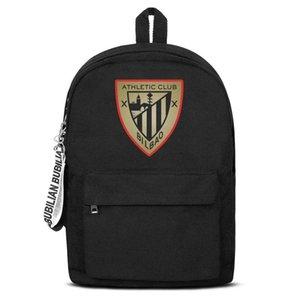 Classic Athletic Bilbao serie Los Leones ATH d'oro su tela Bookbag base zaino riutilizzabile Scuola Studente Sport Daypack Flag etichetta gay